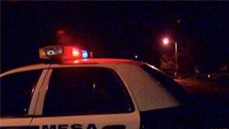 El incidente ocurrio en la ciudad de Mesa