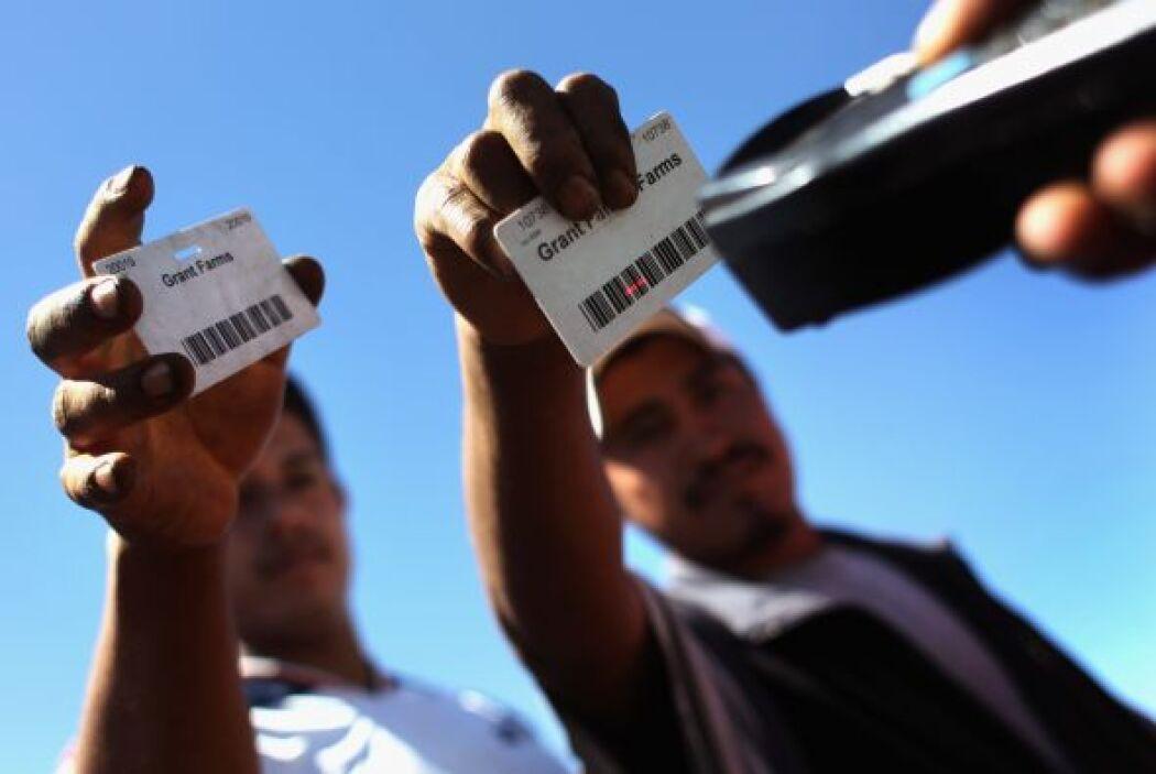 La tasa de desocupación entre la población latina en Estados Unidos bajó...