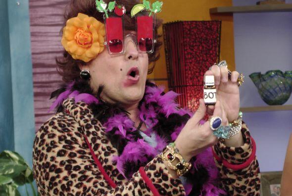 ¿Botox? No cabe duda de que Doña Meche es tremenda.