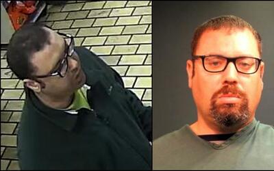 Daniel Fine, de 41 años de edad, arrestado por vandalismo y agres...