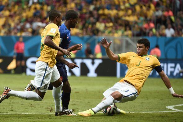 Thiago Silva desplegó su mejor fútbol con el Paris Saint G...