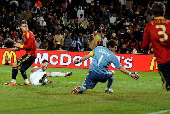 España intentó pero no pudo, la historia quedó escr...