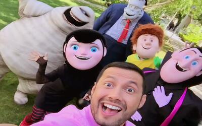 ¿Miedo? ¡No! Luis nos presentó a todos los personajes de 'Hotel Transylv...