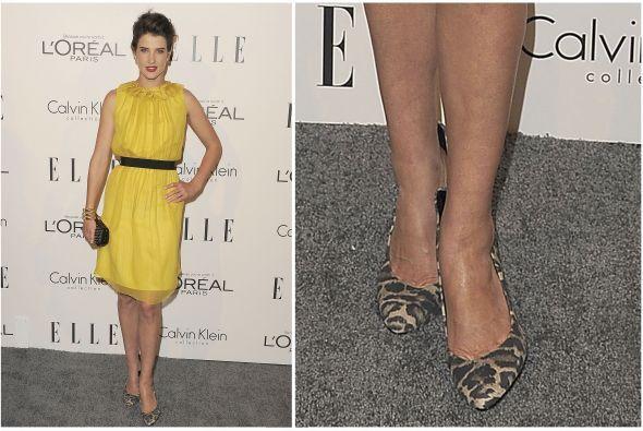 O como estos de la actriz y ex modelo Cobie Smulders.