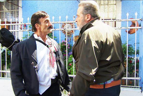 Lo bueno es que don Paco lo puso en su lugar y le demostró que usted no...