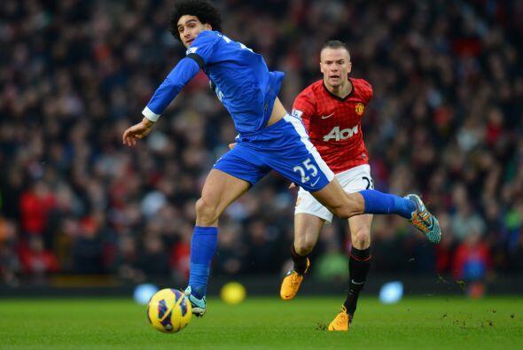 Manchester United recibió en Old Trafford al Everton en duelo de...