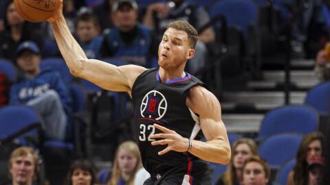 Blake Griffin acumuló 20 puntos y 11 rebotes.
