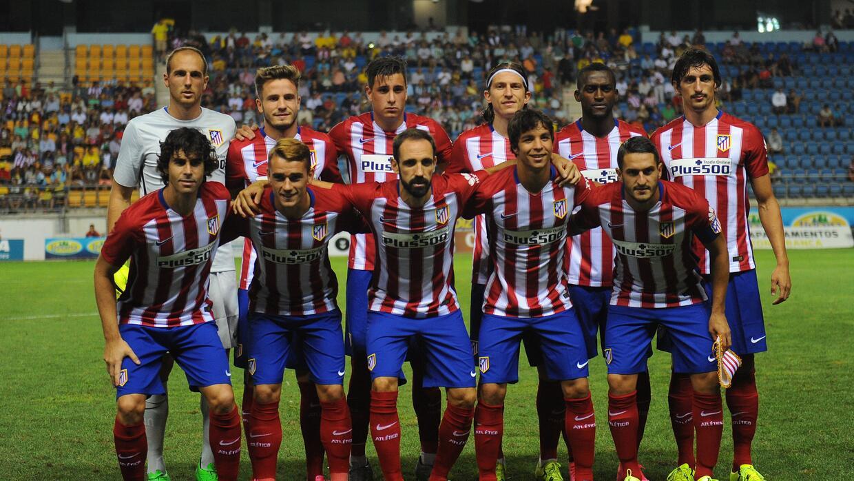El Atlético se presenta en la nueva temporada de la Liga en su campo.