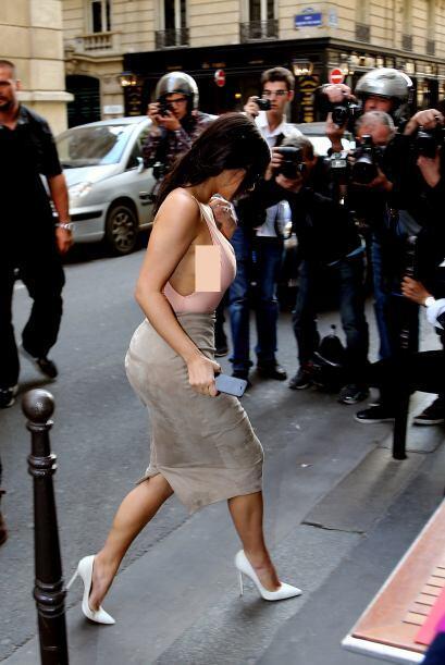 Kim tampoco lucía muy feliz.Mira aquí lo último en...