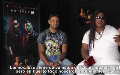 Zion y Lennox explican el significado del título de su nuevo disco 'Moti...