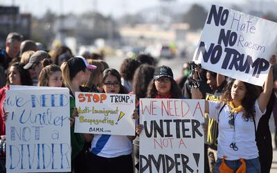 Protestas contra Donald Trump
