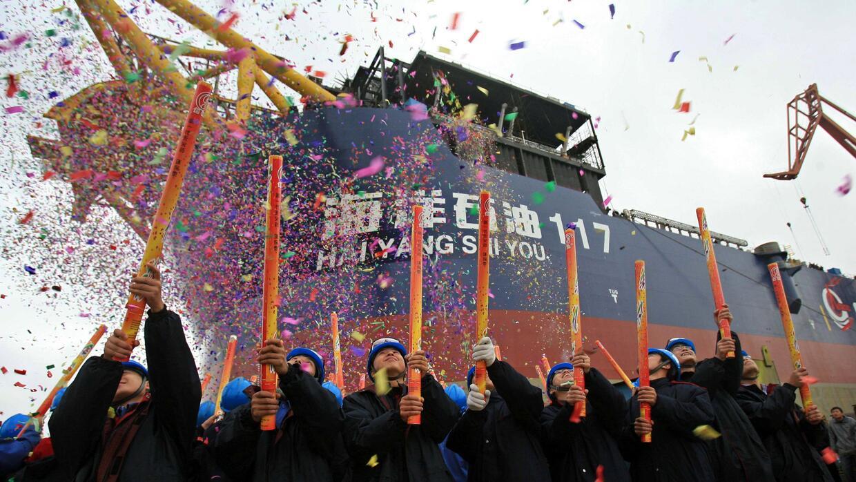 La China National Offshore Oil Corporation -propiedad del gobierno chino...