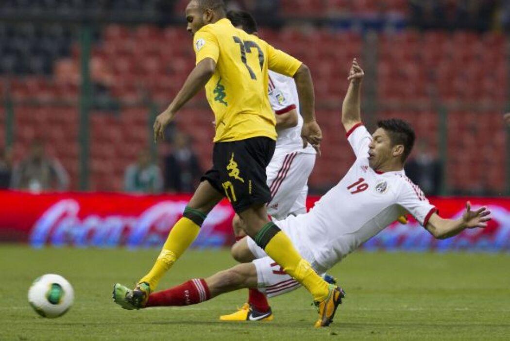 En la primera Jornada, la del 0-0 en casa ante Jamaica, Oribe Peralta re...