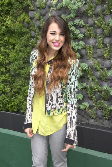 """Danna Paola tiene grandes éxitos entre los que se encuentran """"Mundo De C..."""