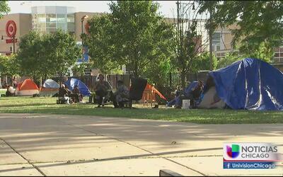 Mayor número de personas sin hogar en algunas zonas de la ciudad