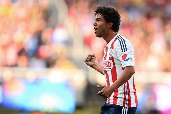 Giovani Hernández, el delantero de Chivas se ha convertido en un...