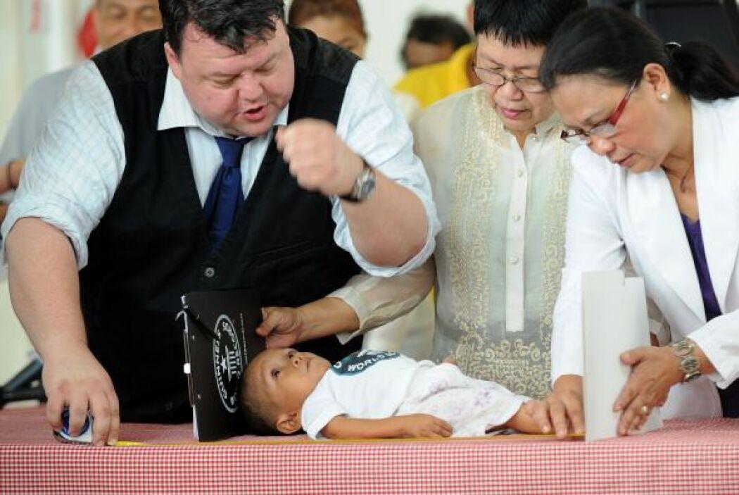 Representantes de Guinness Records fueron hasta Manila para comprobar el...