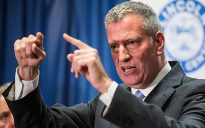 Bill de Blasio no asistirá a una reunión de alcaldes con el fiscal gener...