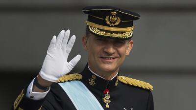 ¡Viva España, Viva el Rey! Felipe es proclamado