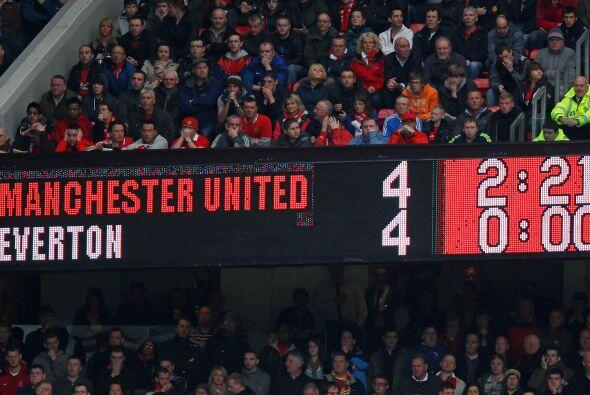 Vaya juego que al menos le regaló a la gente un total de ocho goles.