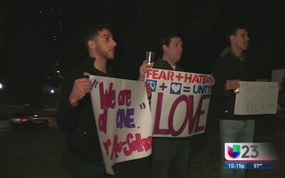 Vigilia por víctimas en París