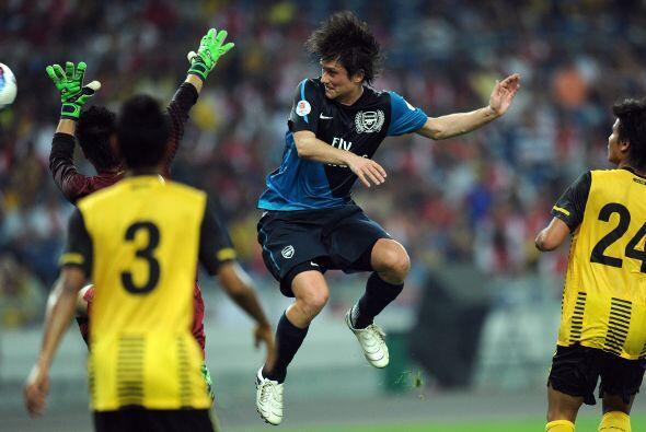 En este partido enfrentó a un combinado llamado Malaysia XI.