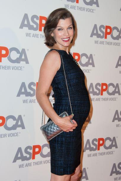 Pero todo ello a que la actriz estaba de nueva cuenta embarazada.