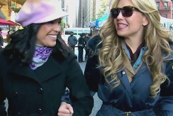 A Thalía le gusta comer pero en honor a la verdad dijo que no es muy bue...