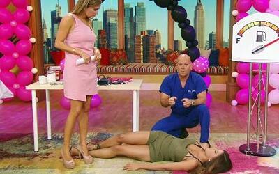El Dr. Rivera nos enseñó cómo debemos actuar si alguien se desmaya