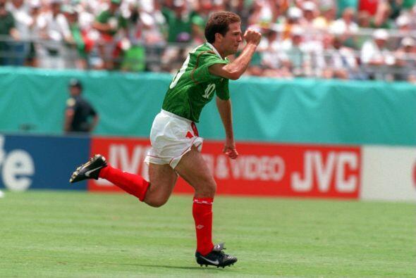 Y gracias al doblete que realizó Luis García, Méxic...