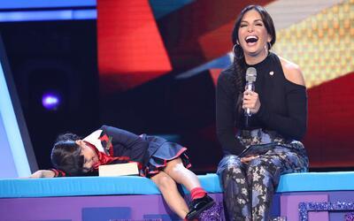 Giuliana no podía ocultar su felicidad porque se ganó unos boletos para...