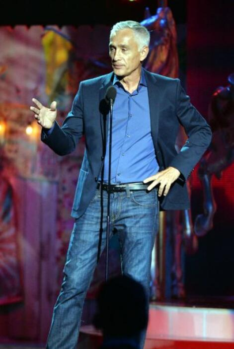 Jorge Ramos presentó la Beca Hispana Premios Juventud 2014.