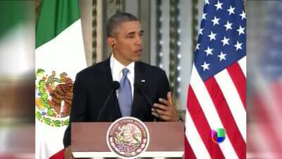 Entrevista exclusiva a Obama en México