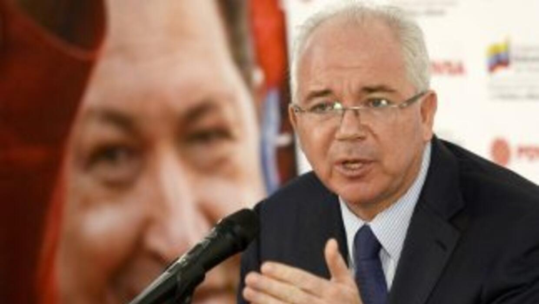 Rafael Ramírez, presidente de Pvdsa.