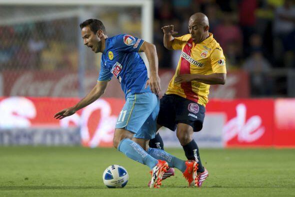 El que sí fue factor en el medio campo fue Egidio Arévalo...