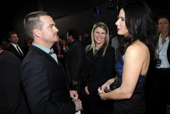Pero el tiempo pasa, y pasó. Sandra Bullock y Chris son muy amigos y de...