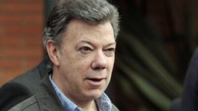 El presidente Juan Manuel Santos ordenó a los negociadores de pazinicia...
