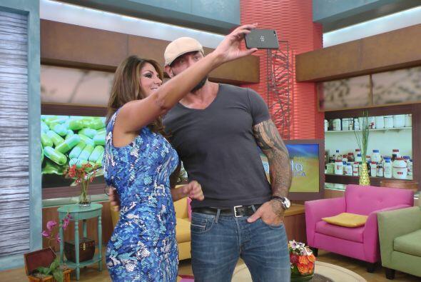 Las 'selfies' no podían faltar había que presumir la foto en las redes s...