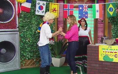Rosie Rivera conoció a Eusebio, el hijo de doña Chona
