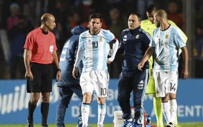 Messi está mejor, pero sigue en reposo