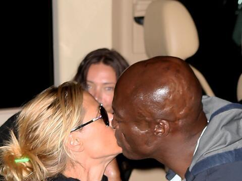La ex pareja se reencontró para una cena familiar en Manhattan.