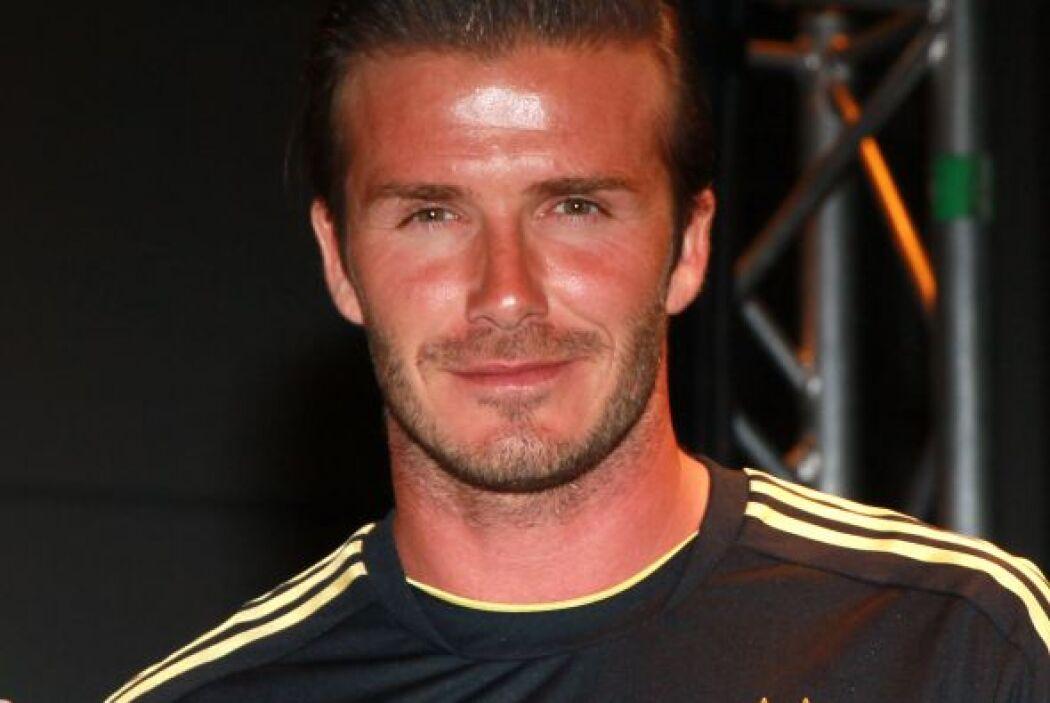 6.- David Beckham: El Spice Boy se ha distinguido por tener un gusto exq...