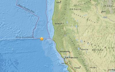USGS confirmó que se registró un sismo de 6.5 en Californi...