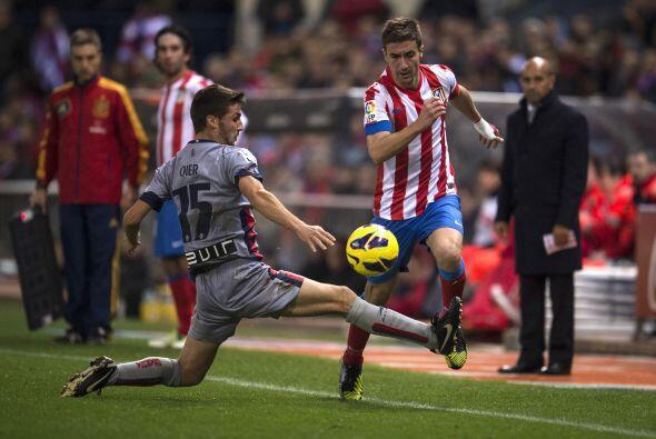 El otro duelo que interesaba por encima de otros era el del Atlético de...