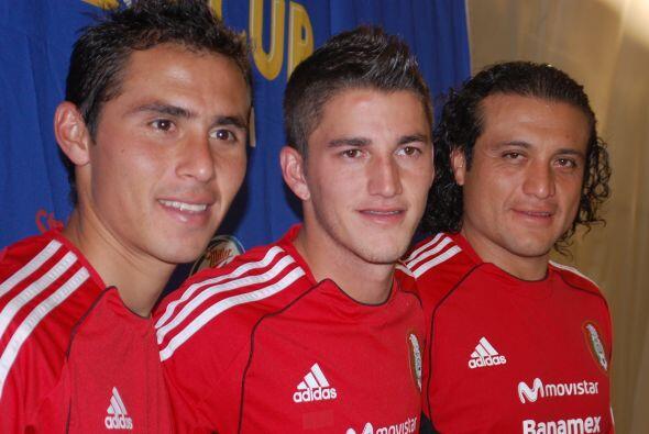 Recordemos que dos de estos tres jugadores estaban concentrados con el g...