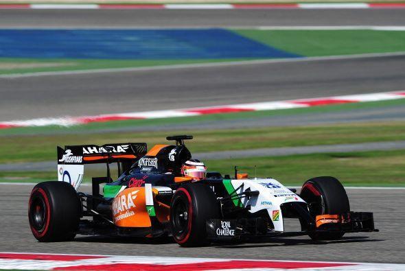 Force India renovó su cuadrilla; el mexicano Sergio Pérez quiere resurgi...