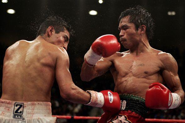 Manny Pacquiao llegó como amplio favorito sobre el 'Terrible' Mor...