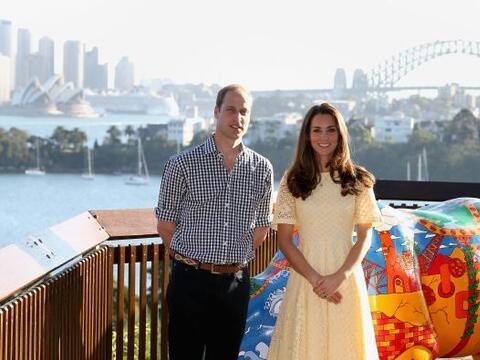 Los Duques de Cambridge continuaron su gira de trabajo, ahora en Austral...