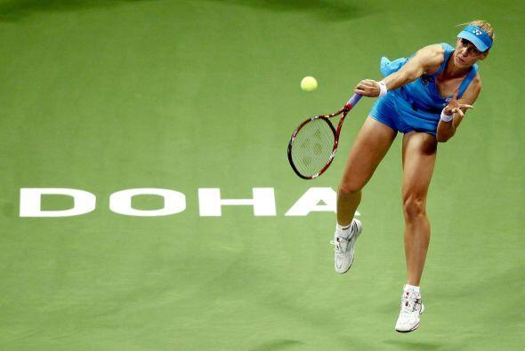 9° Elena Dementieva de Rusia, quien hace poco anunció su retiro en el Ab...