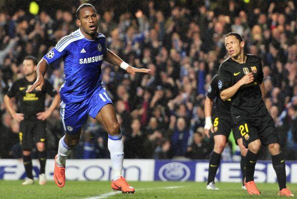El atacante marfileño no perdonó y consiguió el 1-0.
